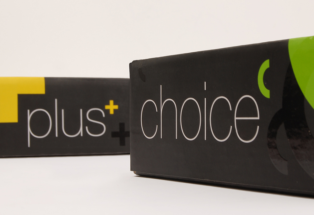 Plus choice box